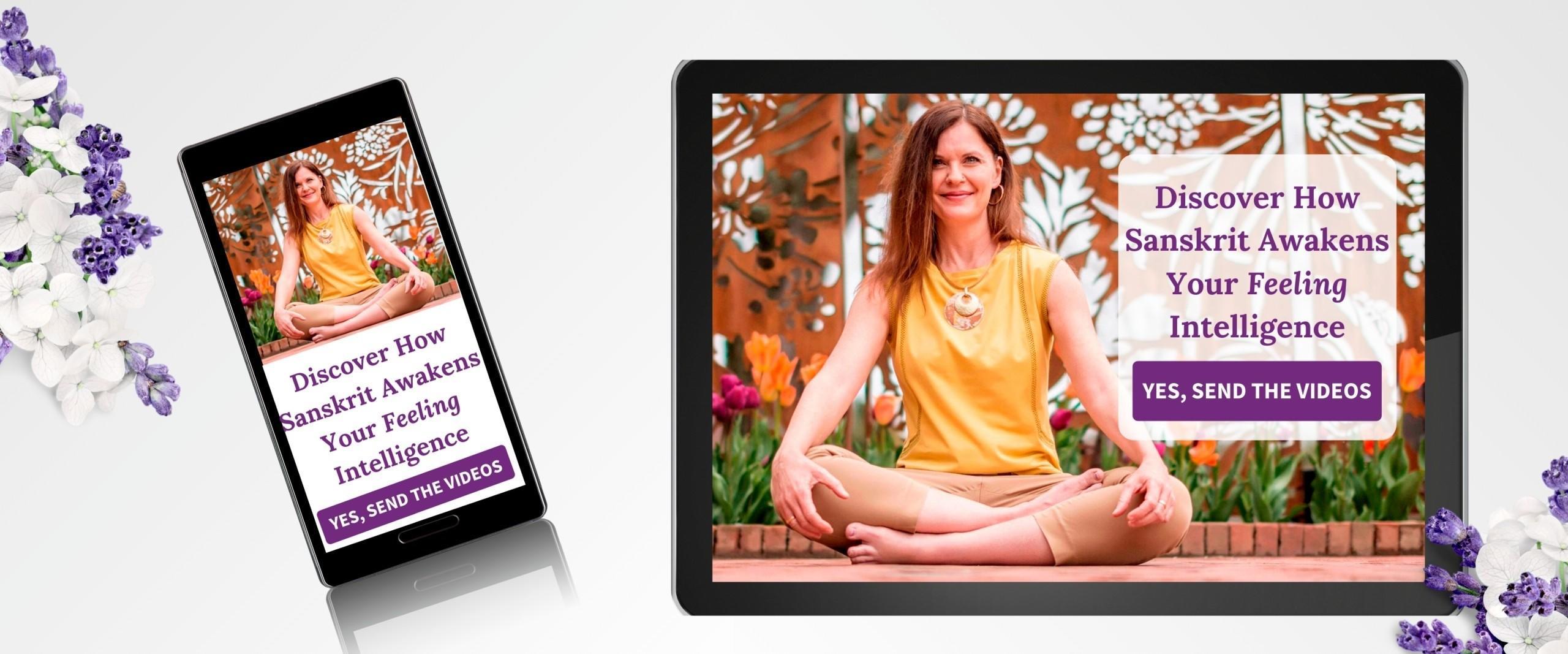 Dr. Katy Jane Sitting Lotus Seat Sanskrit
