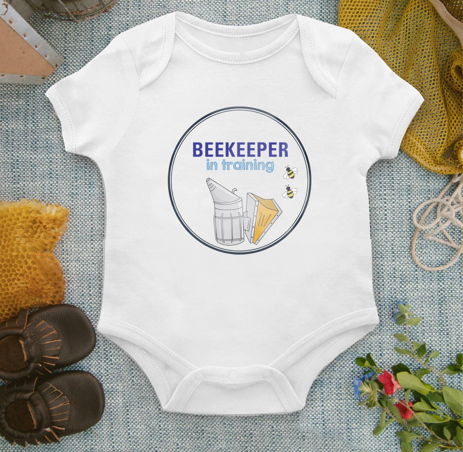 beekeeper in training onesie