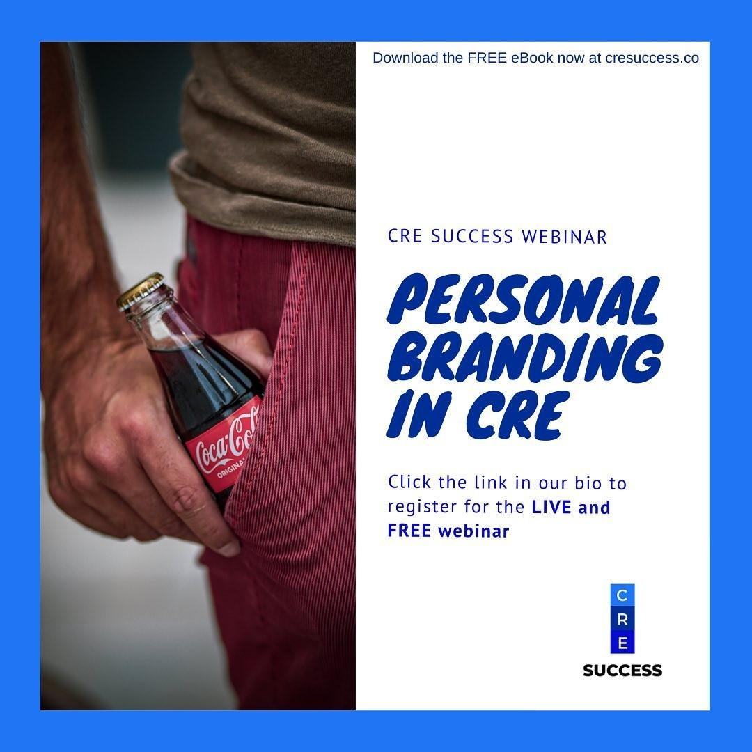 To find out how to use LinkedIn to grow your network, show them your capability and then know them off the platform, watch the Personal Branding webinar with Darren Krakowiak, Founder of CRE Success.