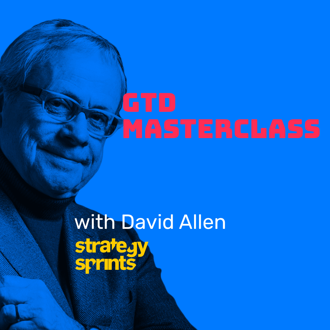 David Allen on the Strategy Sprint's Strategy Show title