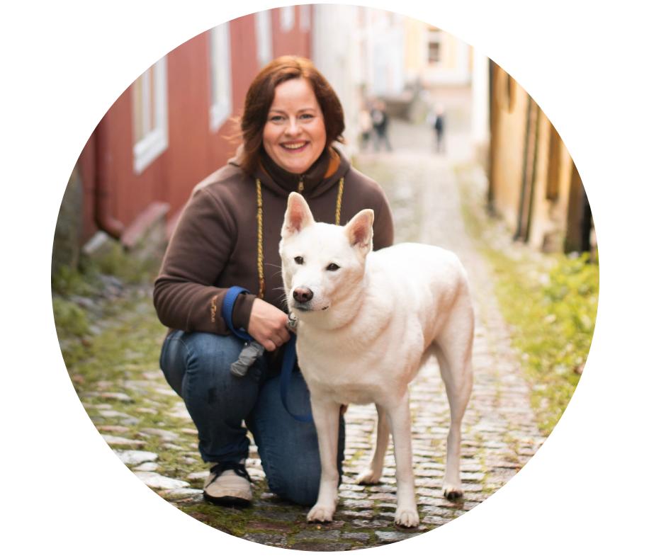 Malin Ekblom koirien ravintoterapeutti