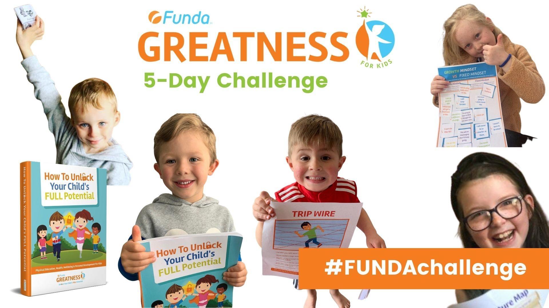 FUNDA Greatness 5-Day Challenge