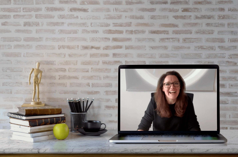 ib and gcse physics online tutor laptop desk