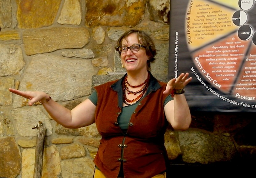 Study with Corinna Wood in the Wise Woman Tradition, earth-based, woman-centered