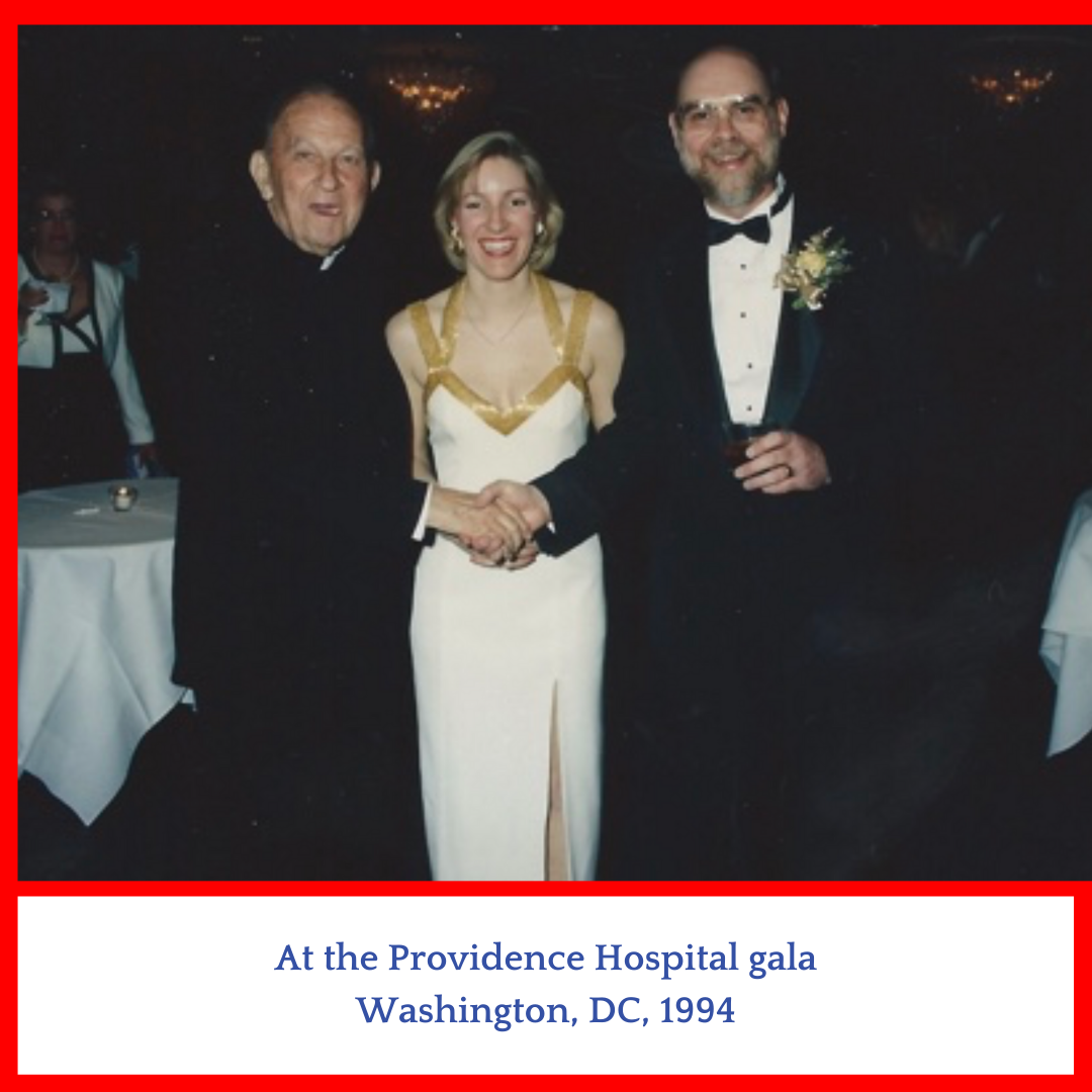 Group of 3 people at Gala in DC