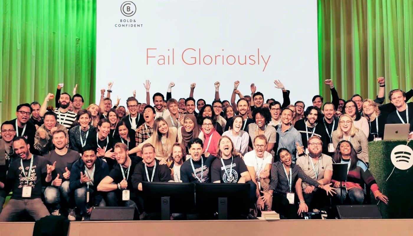 Hillarious Fail Gloriously™ course with Spotify and Josh Lenn