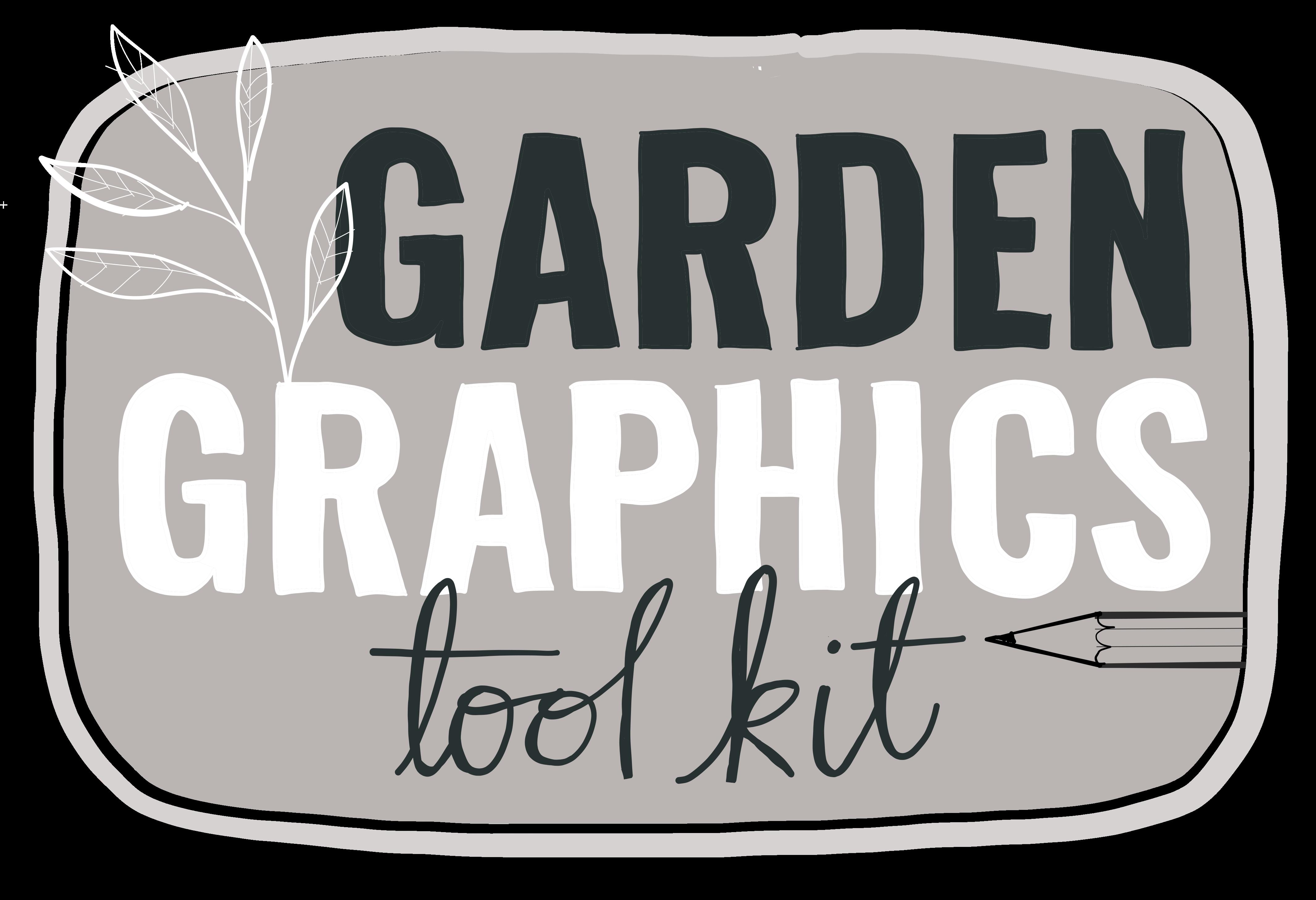 garden graphics tool kit logo