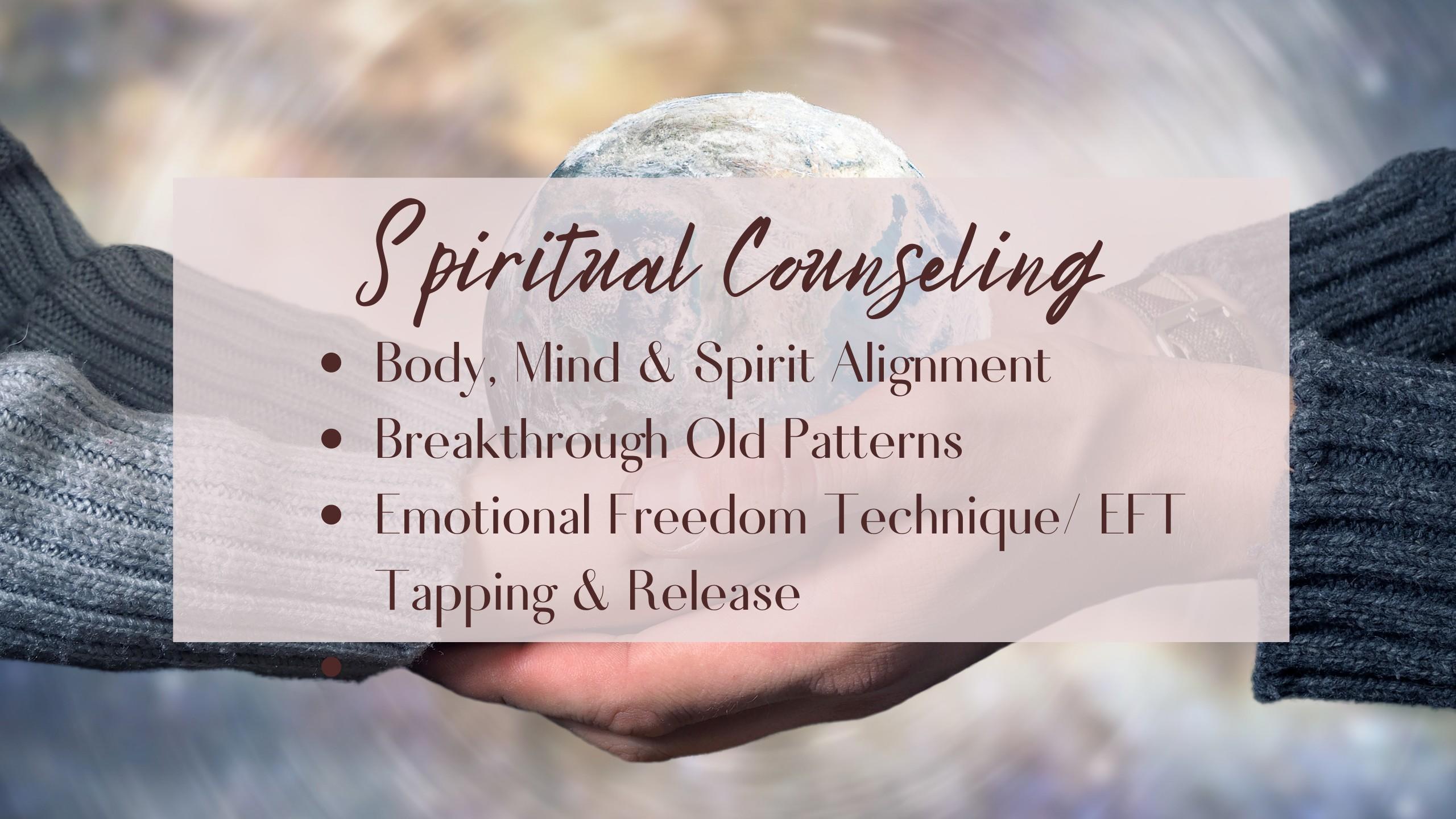 Spiritual Counseling EFT Tapping