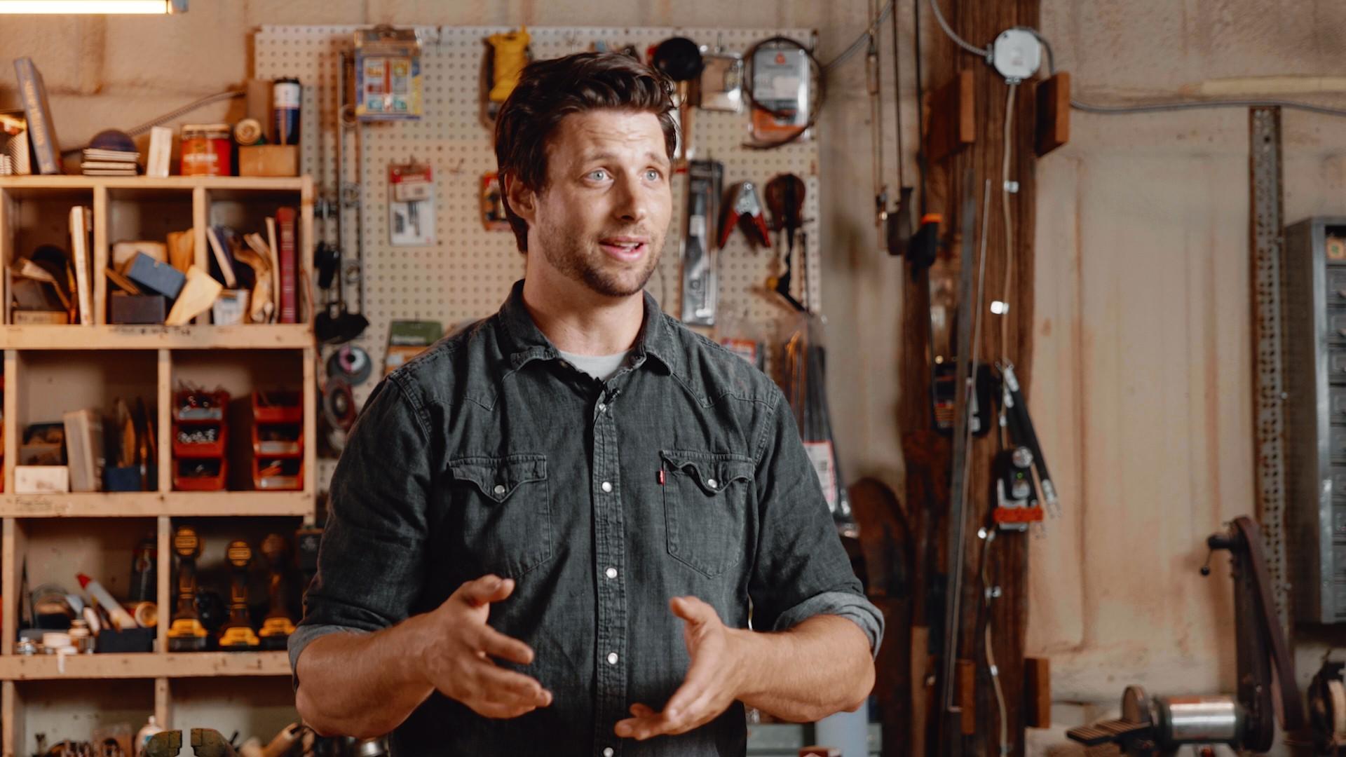 Construction Teacher Teaching Blueprints Class