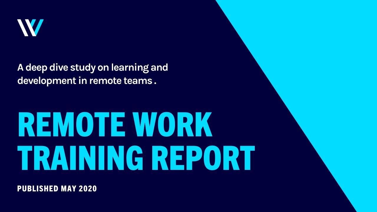 Remote Work Training Report