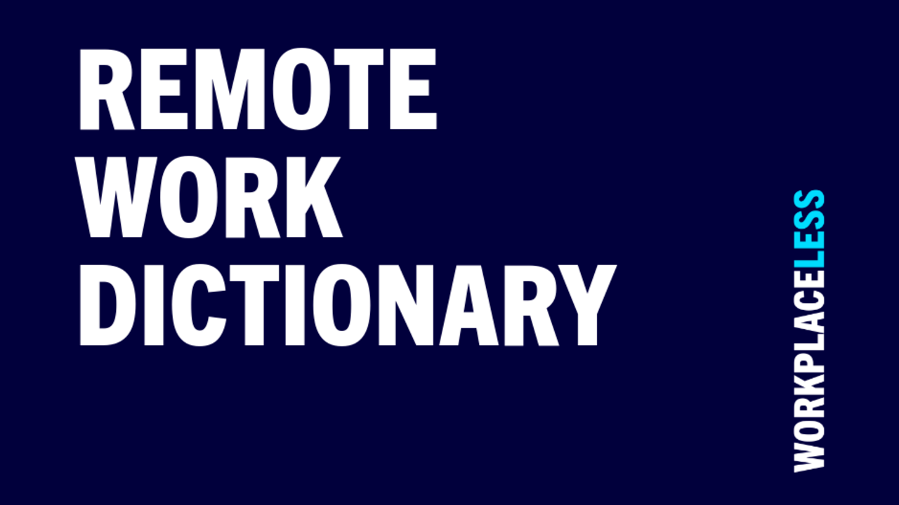 Remote Work Dictionary