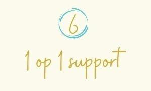 6. 1 op 1 support