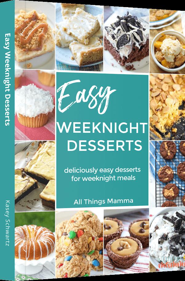 Easy Weeknight Desserts eBook