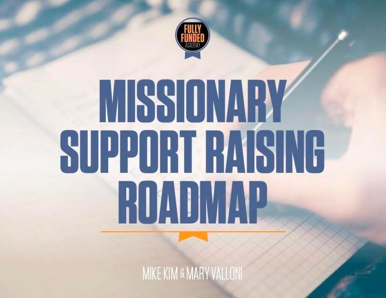 Missionary Support Raising Roadmap
