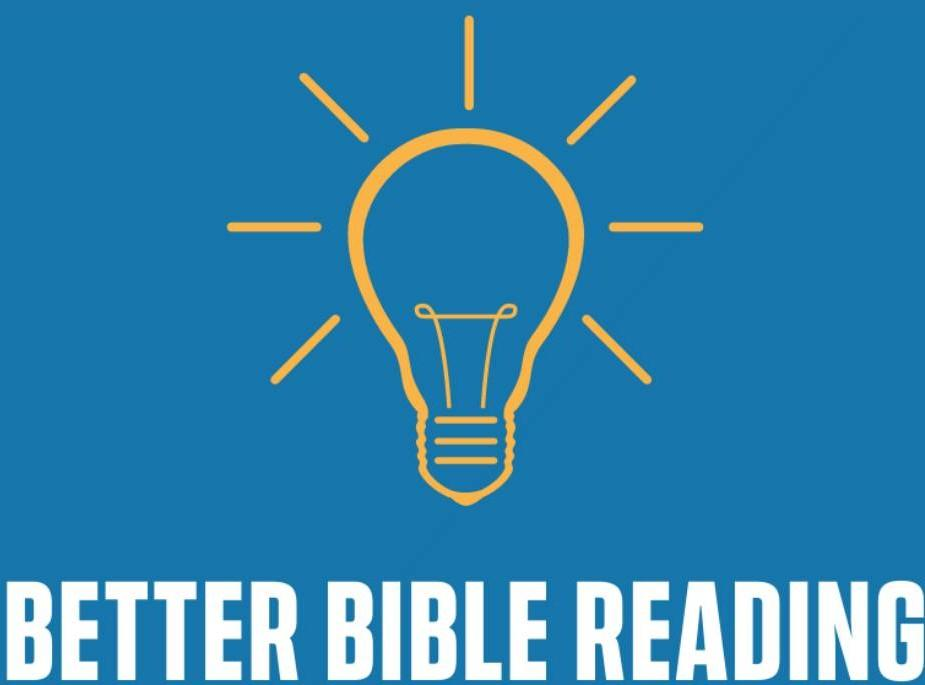 Better Bible Reading