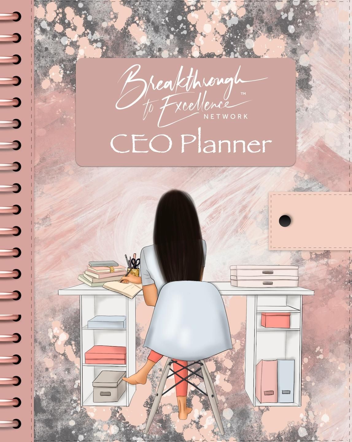 Image of Brown Boss version of Breakthrough to Excellence CEO Planner