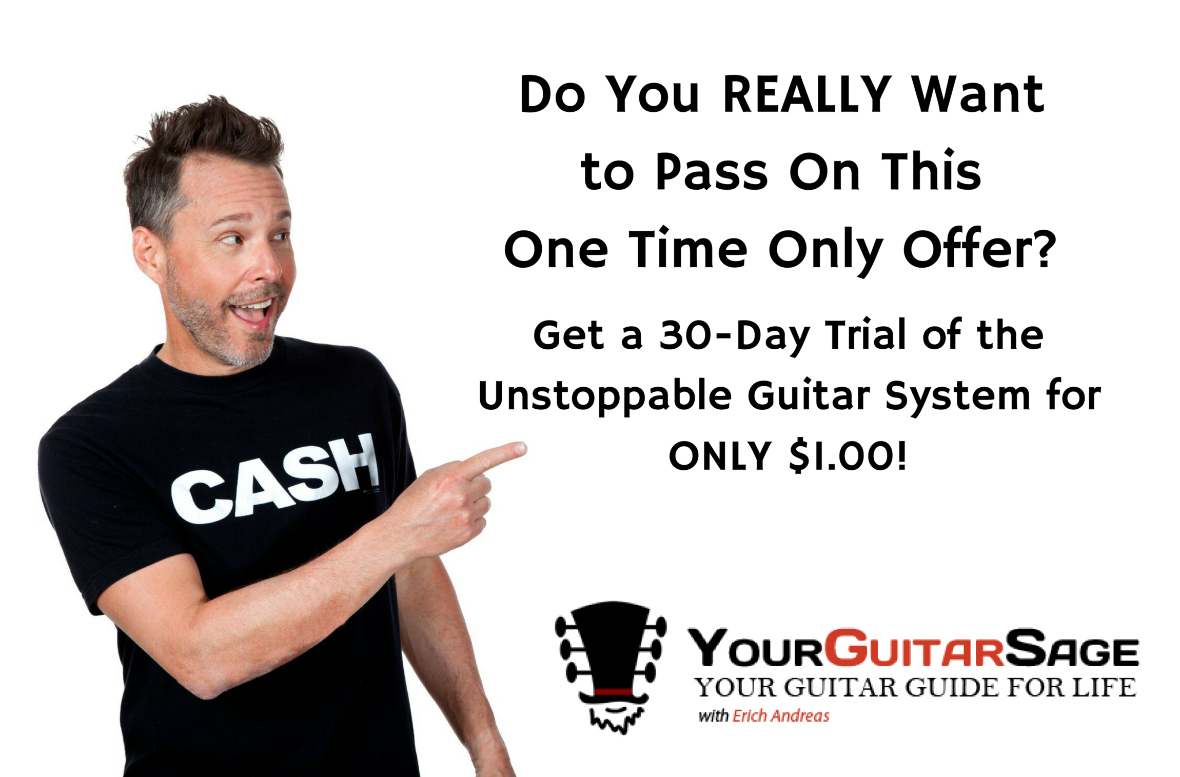 Unstoppable Guitar System Trial
