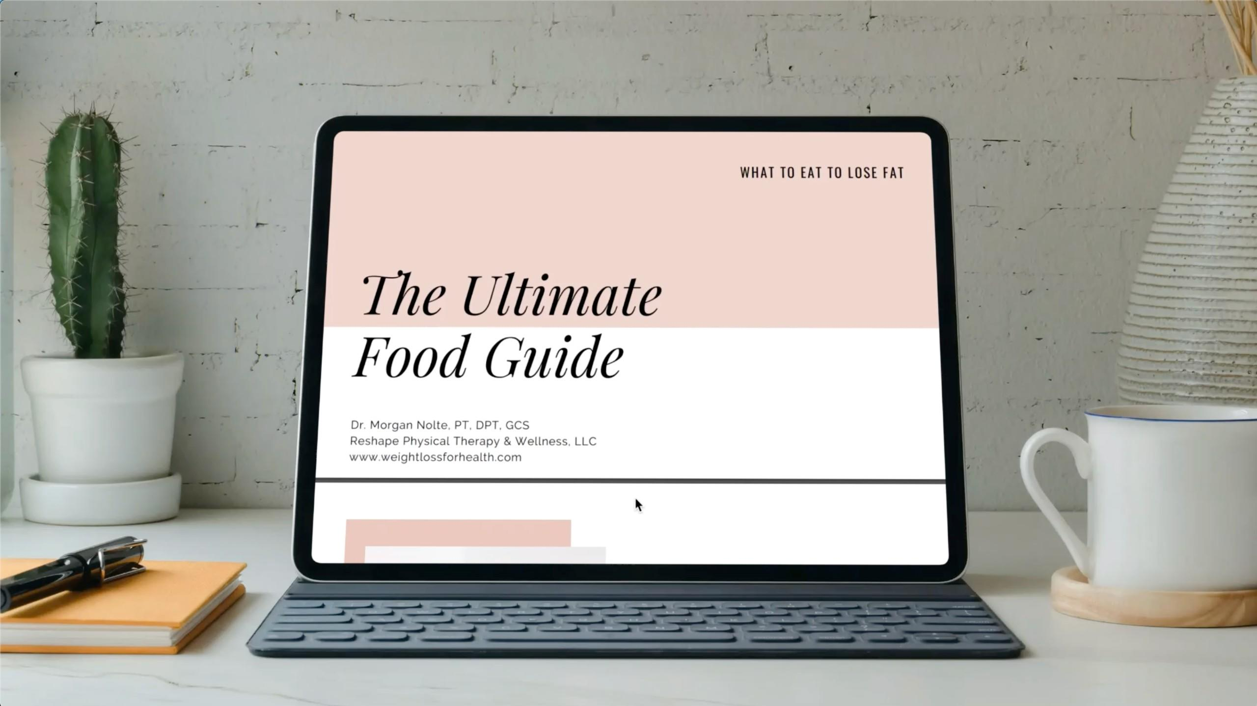 The Ultimate Food Guide   Dr. Morgan Nolte