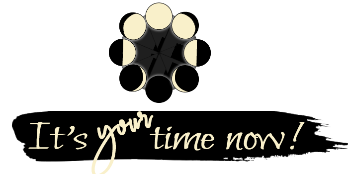 it's your time now logo