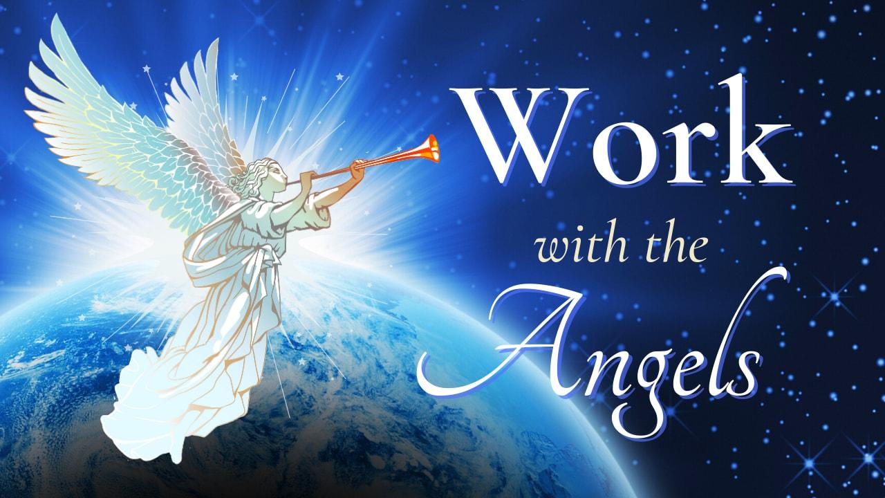 Work with the Angels course logo