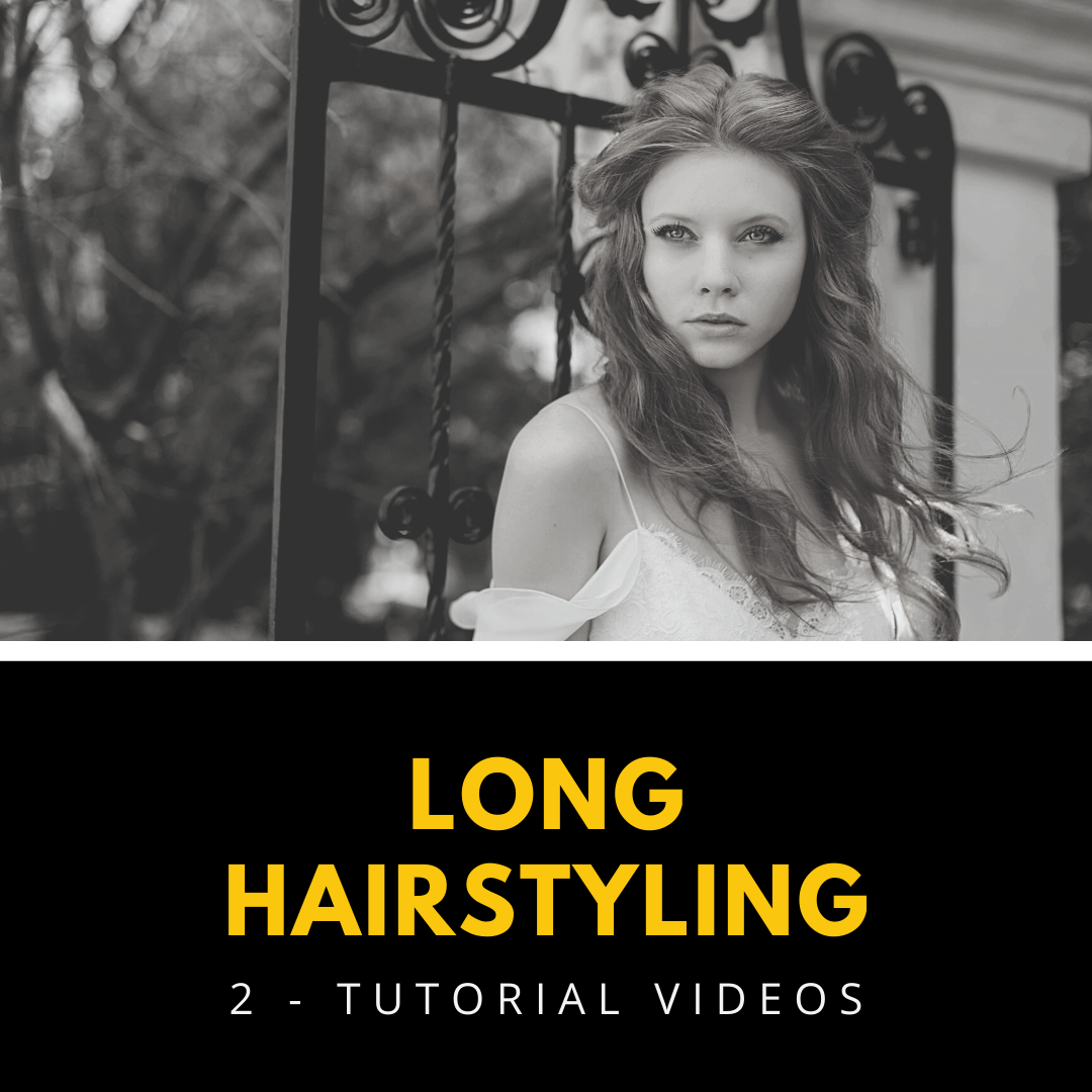 hairstyling setting techniques tutorial videos