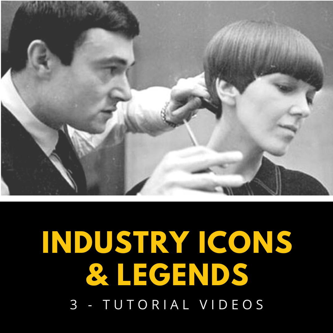 hairstyling icons and legends tutorial videos