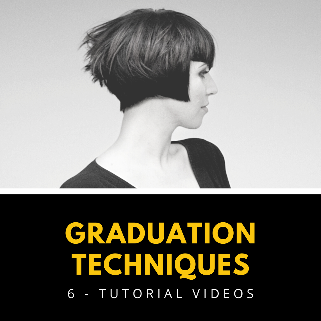 graduation hairstyling techniques tutorial videos