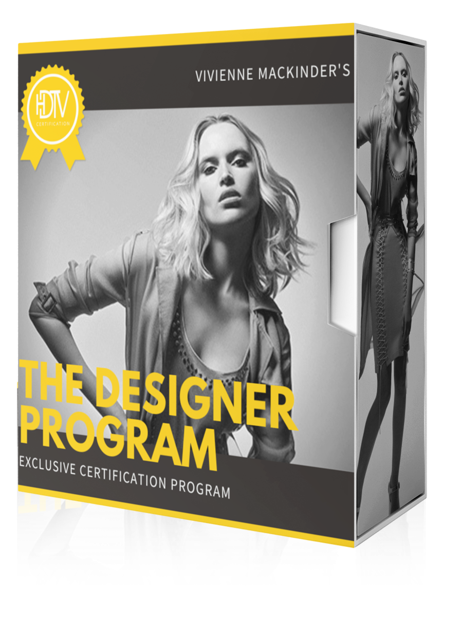 vivienne mackinder's certified designer program hairstyling training bundle