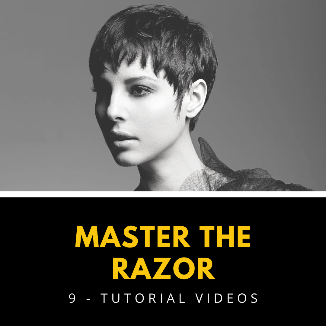 razor cutting techniques tutorial videos