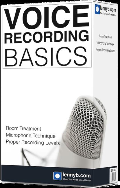 Free Voice Recordings Basics Online Course