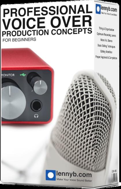Professional Voice Production Concepts Course