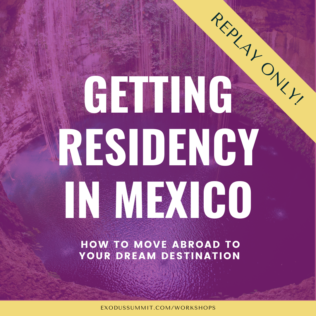 Getting residency visa in Mexico 2021