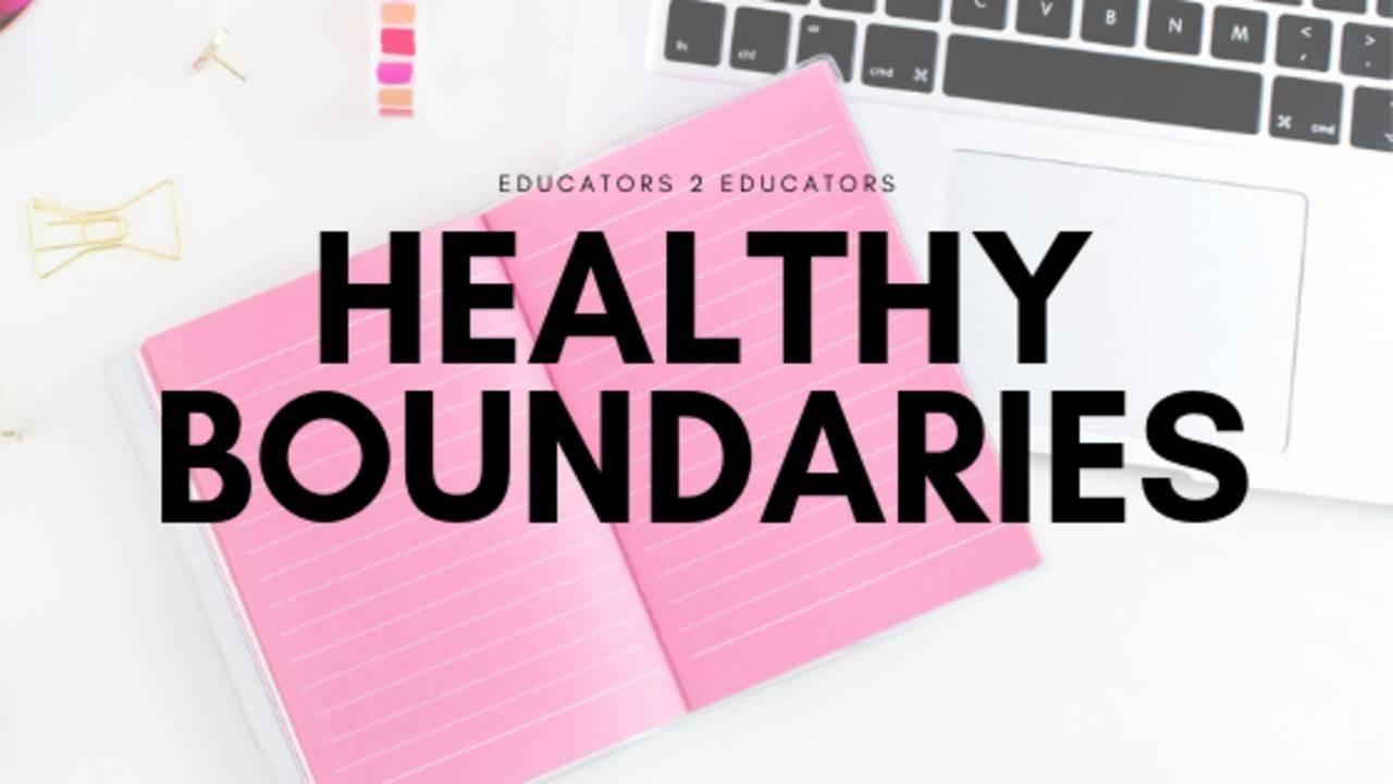 Building Healthy Boundaries