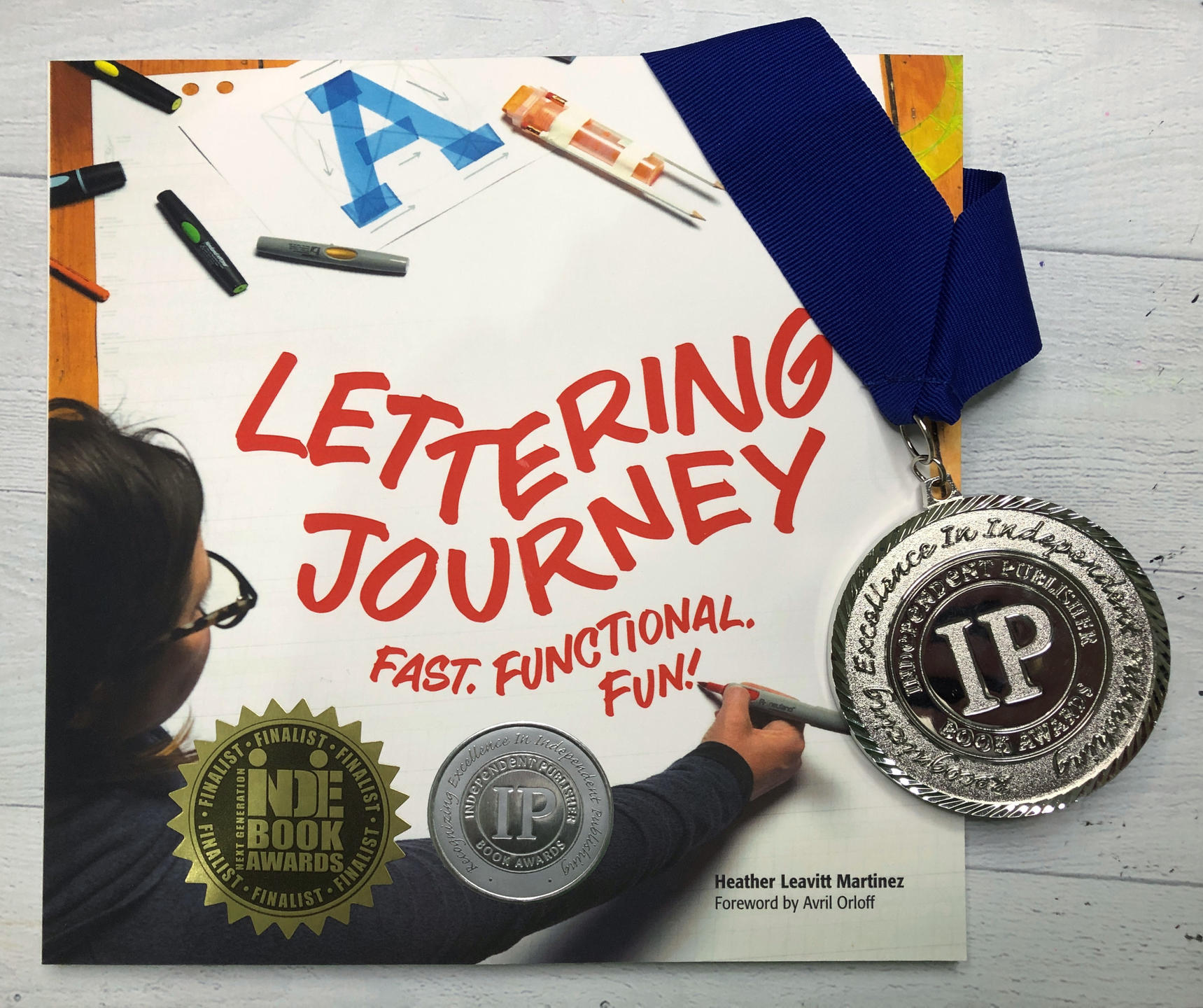 Lettering Journey book