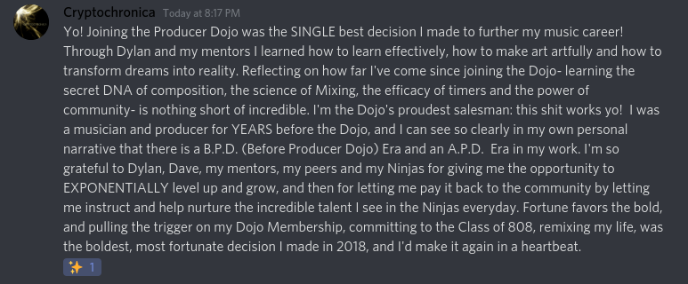 Learn to make music and learn to write songs with the Producer Dojo membership.