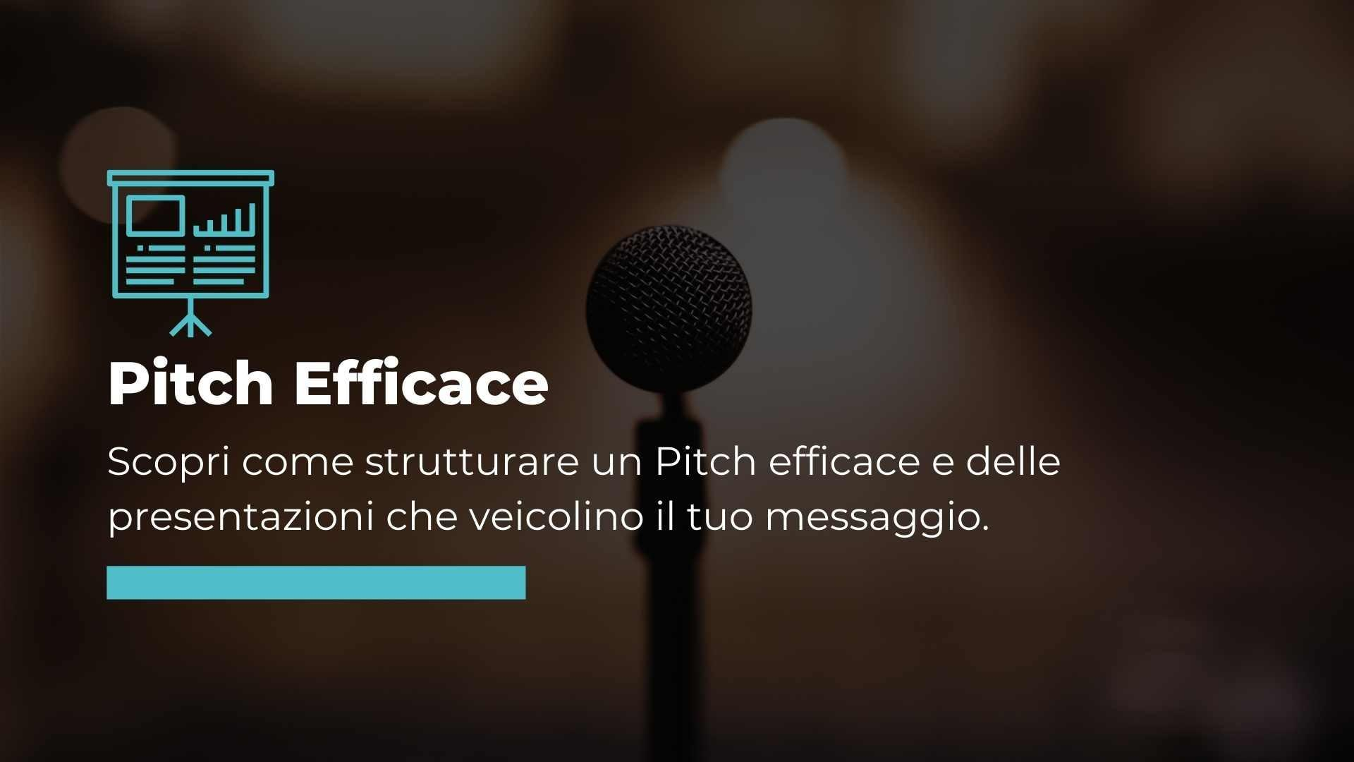 corso pitch efficace