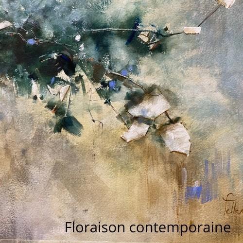 Floraison contemporaine avec Odette Feller