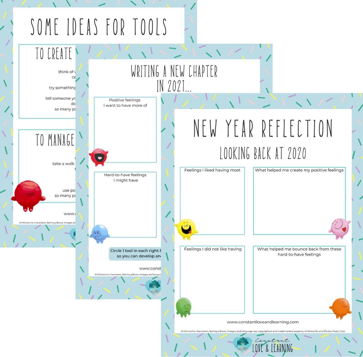 New Year Feeling Reflection