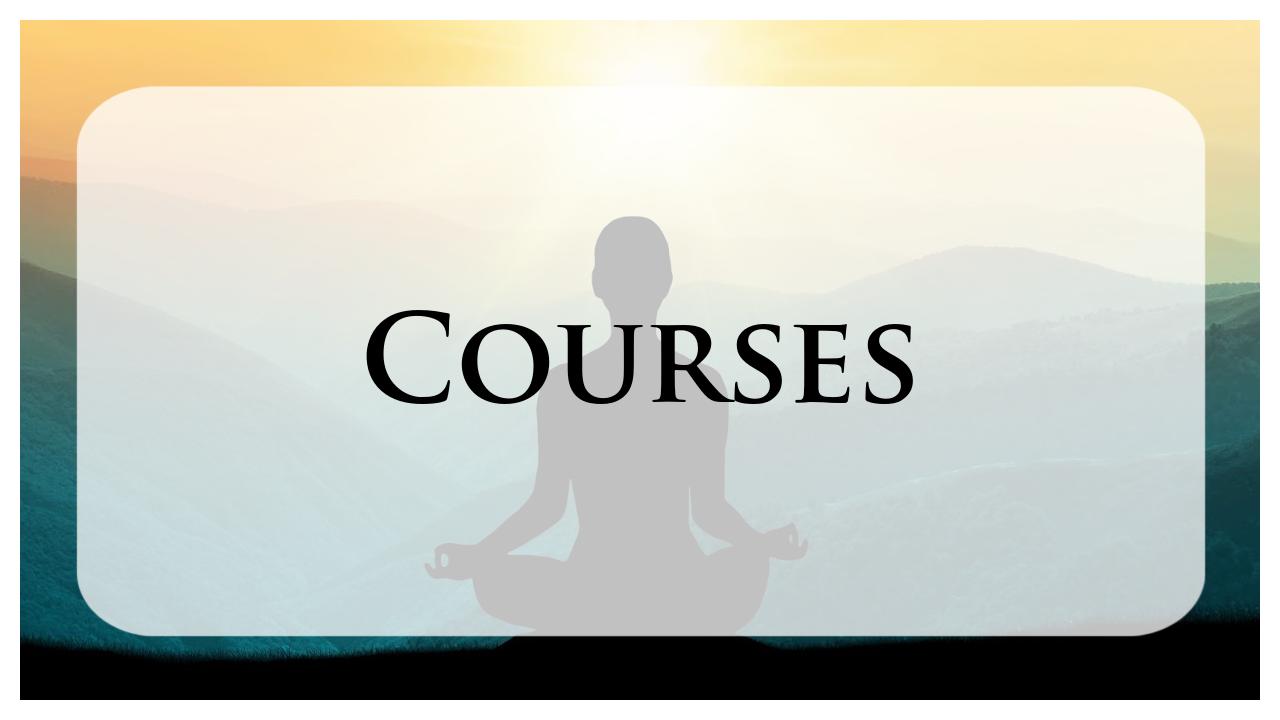 Spiritual Path of Tantra Courses