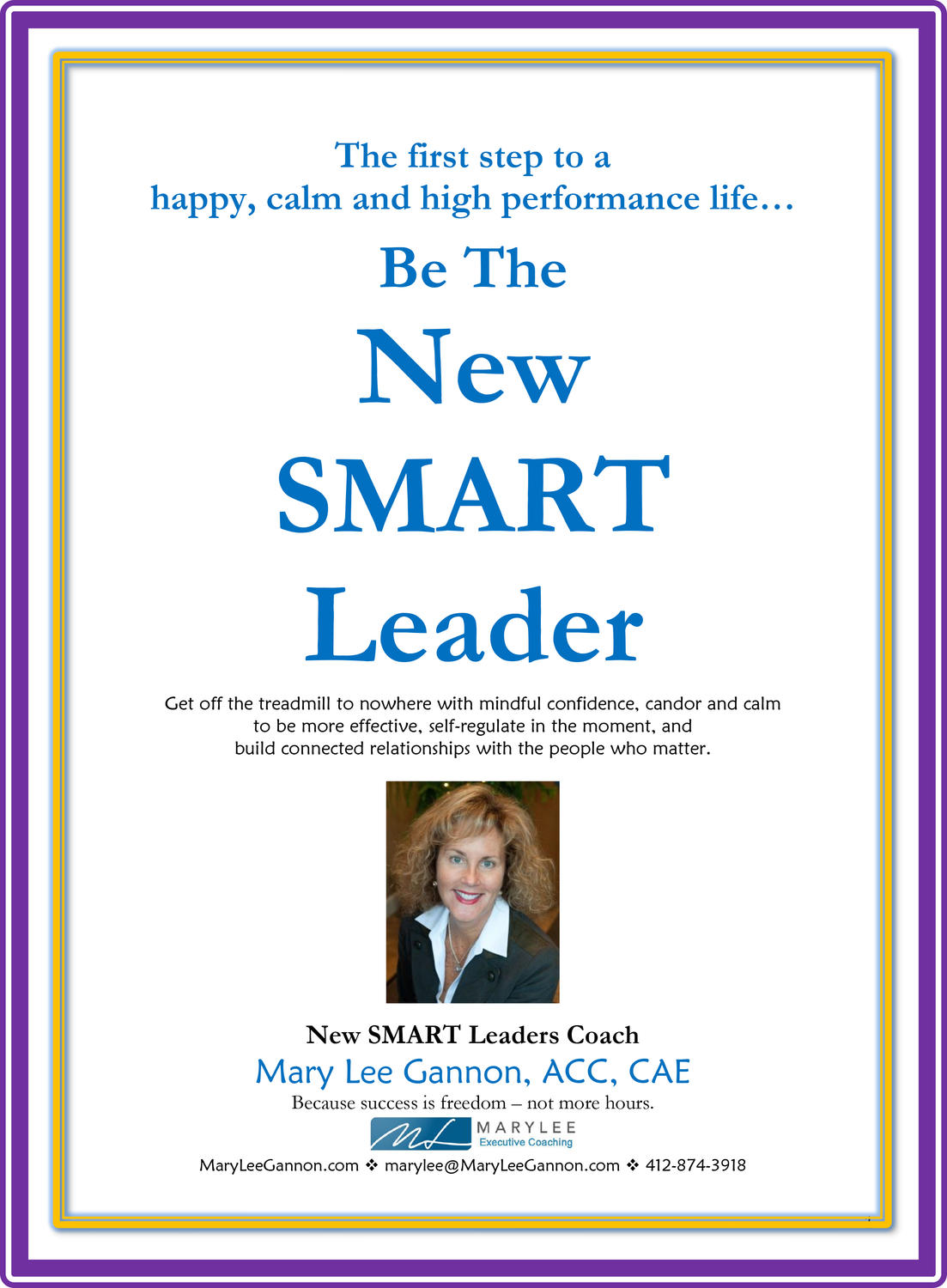 Be The New SMART Leader Email Page