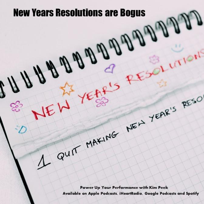 New Years Resolutions Are Bogus