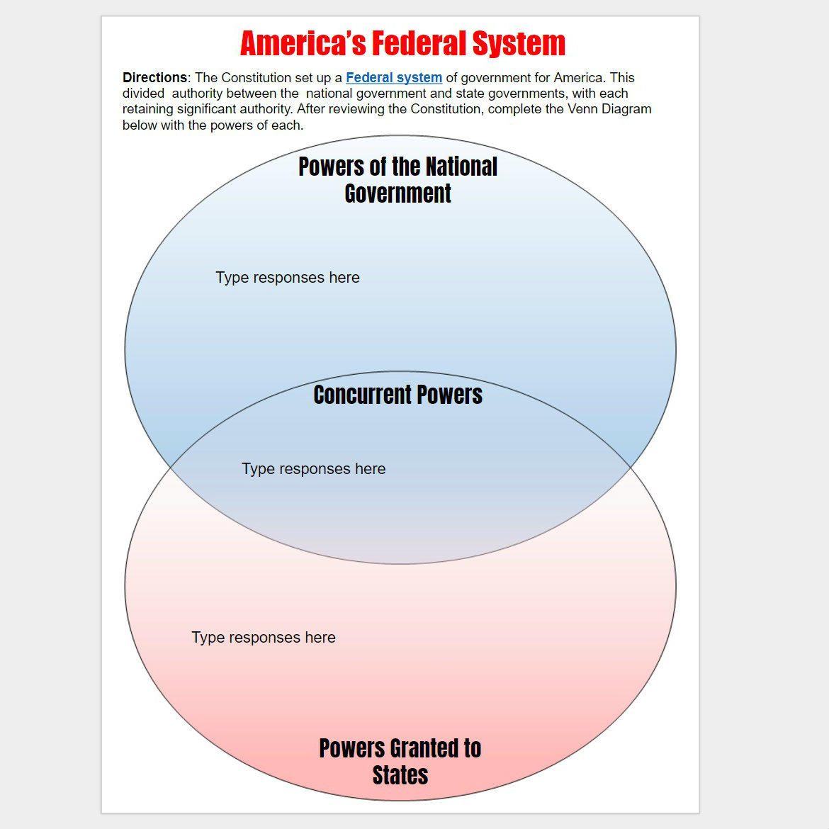 Workbooks types of government worksheets printable : Our Government Teaching Resources & Activities