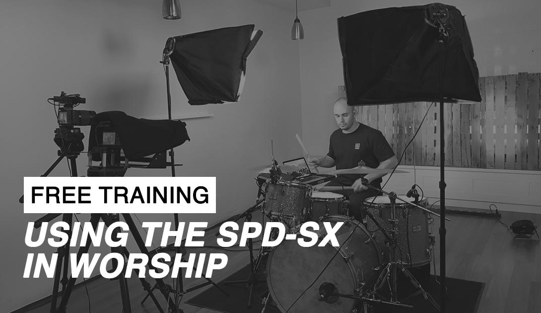 Using the SDP-SX in Worship Drumming