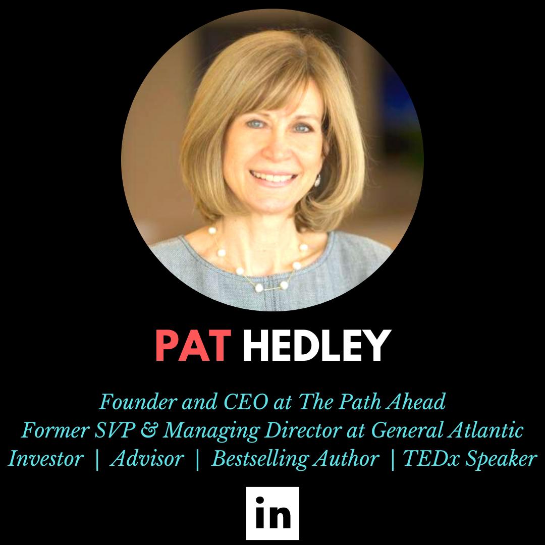 Pat Hedley, The Path Ahead