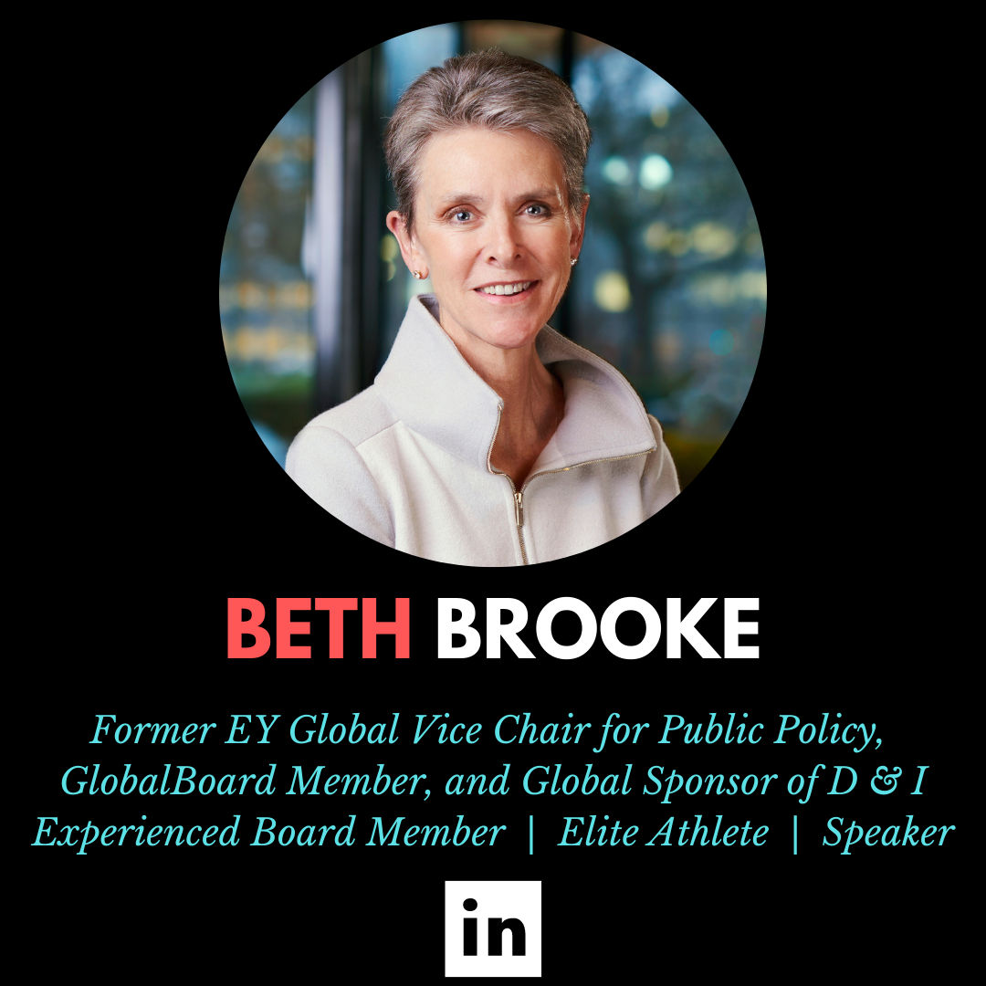 Beth Brooke, Former EY Global Vice Chair of Public Policy