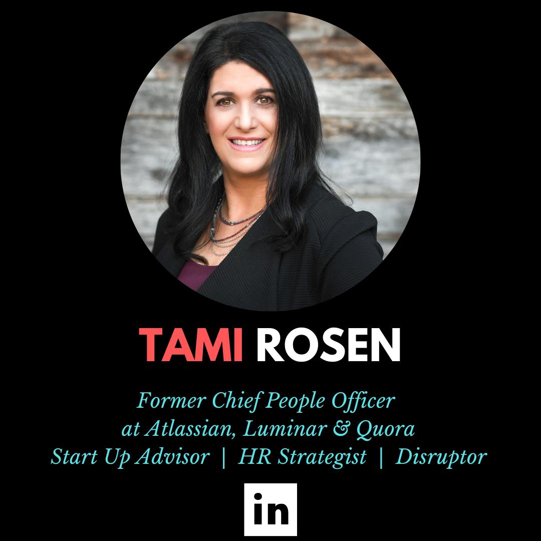Tami Rosen, Chief People Officer