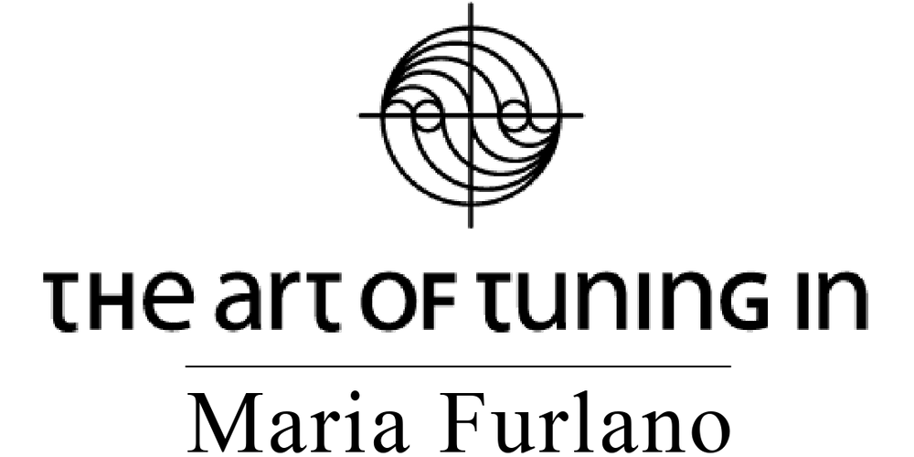 Logo The Art Of Tuning In Maria Furlano Website Header