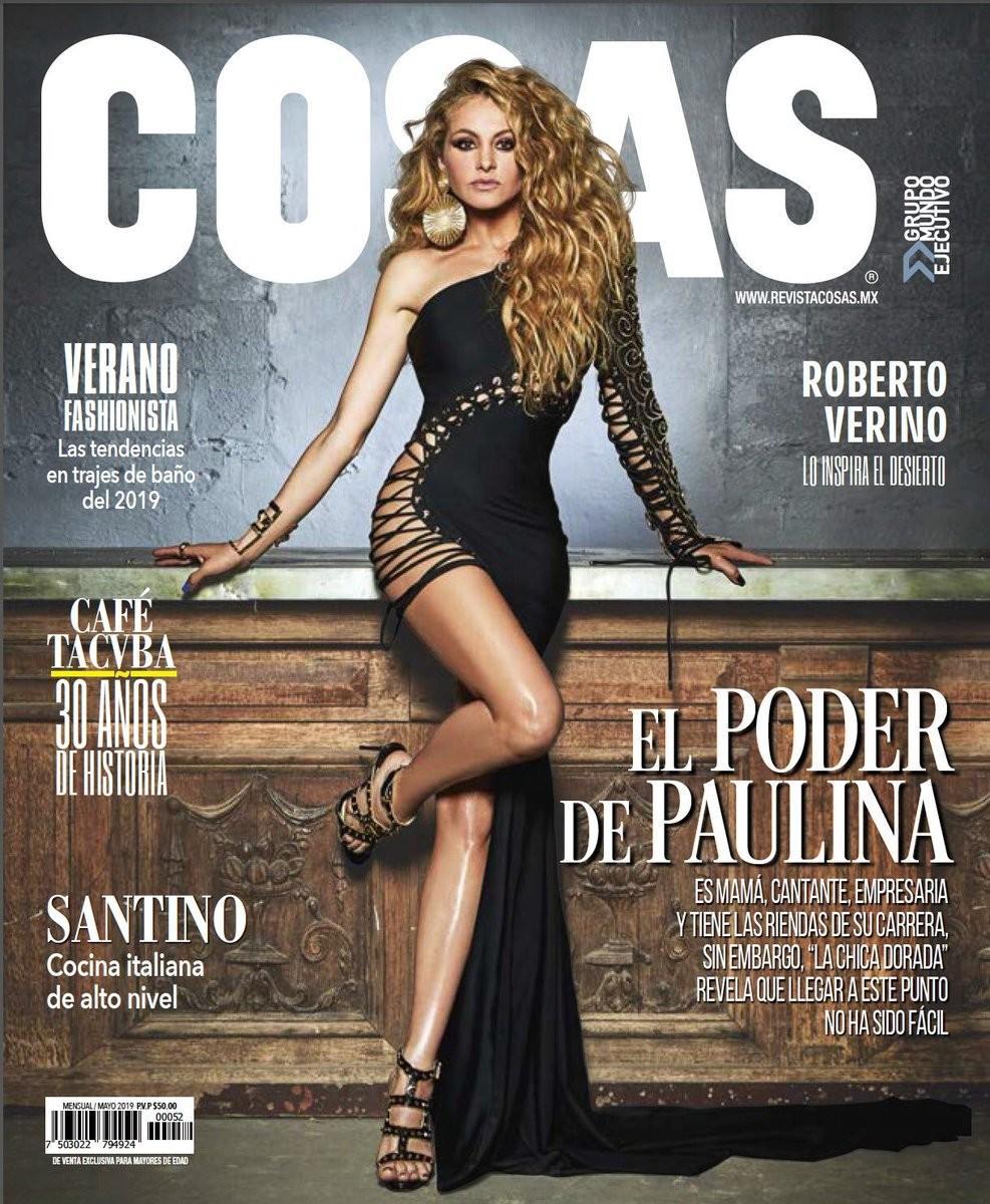 Paulina Rubio Portada Revista Cosas