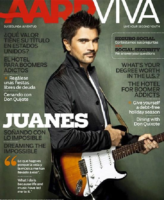 Juanes en AARP Magazine