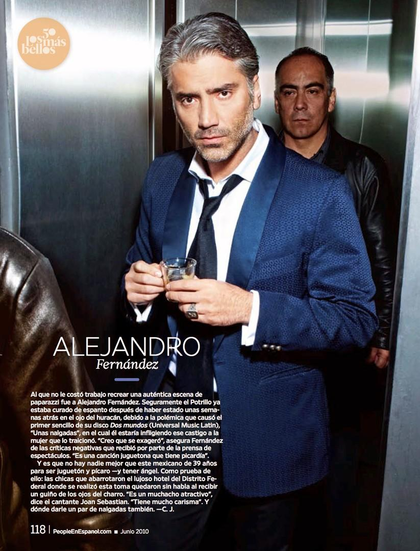 Alejandro Fernandez en People en Español